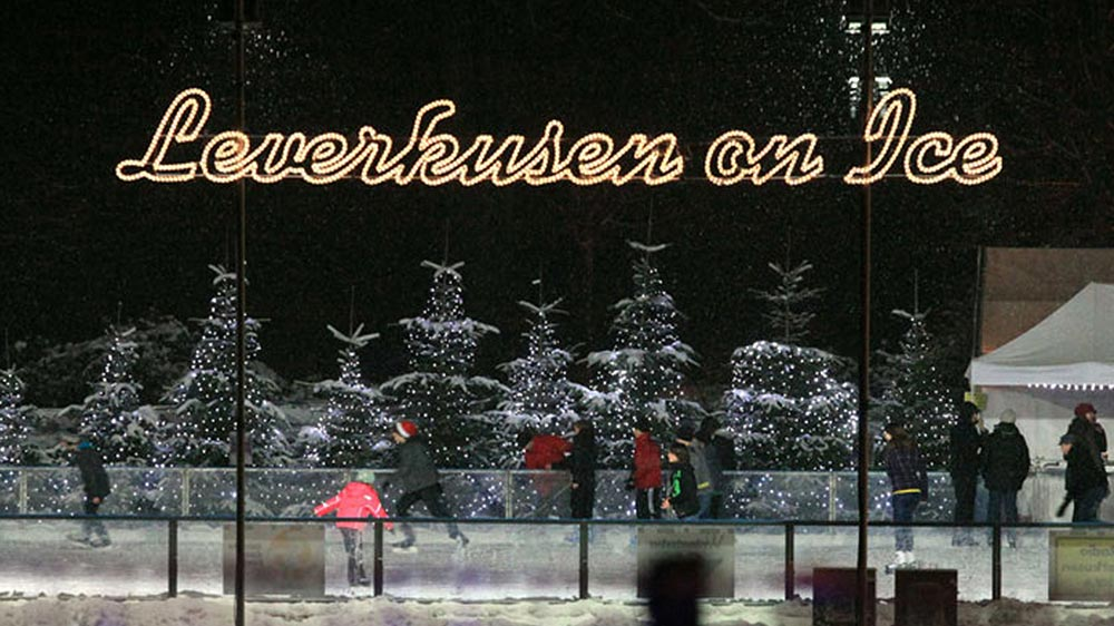 Image result for Die Wintersaison für Leverkusen on Ice