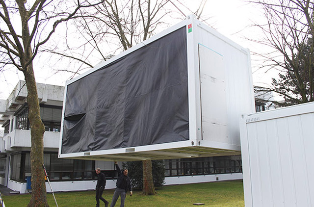 Installation Container Koeln