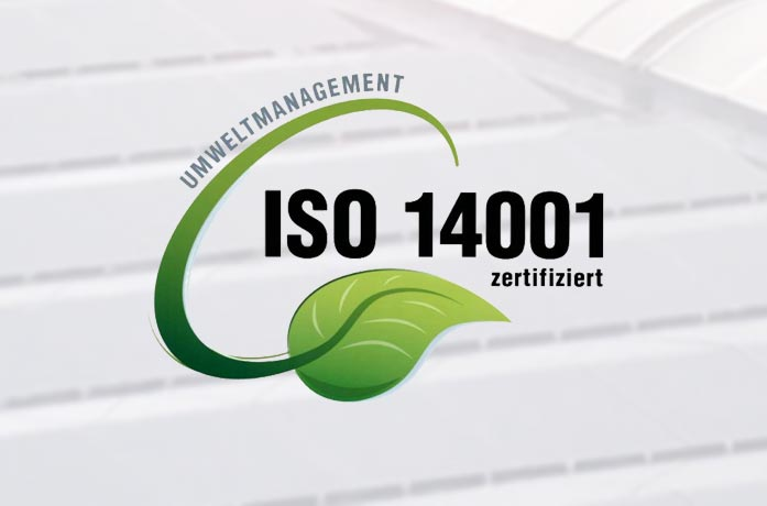 DIN ISO 14001 certification for NIESEN
