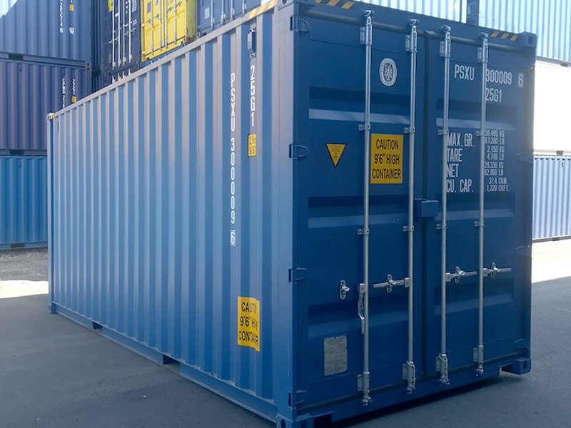 20' High Cube Lagercontainer