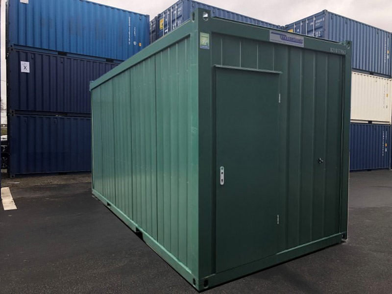 20' Damen WC Container